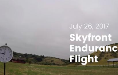 Skyfront Multicopter stellt neuen Weltrekord auf